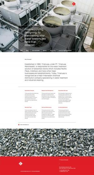 Congrats Tirtanusa Mandrasakti on new website